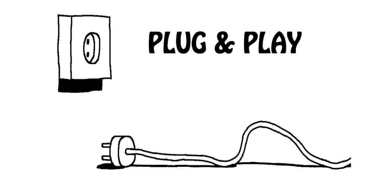 картинка из игры Plug & Play