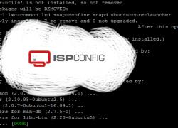 Автоматическая установка хостинг панели ISPConfig 3.1